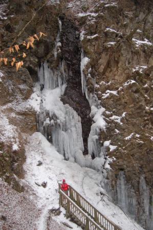 14スッカン沢の氷壁