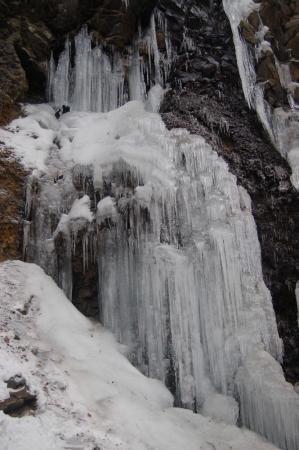 15スッカン沢の氷壁