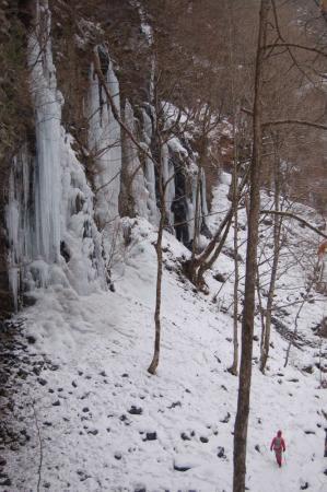 16スッカン沢の氷壁
