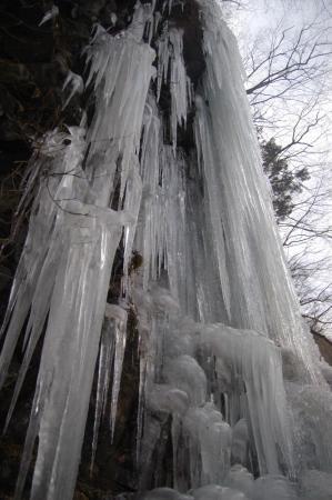 17スッカン沢の氷壁