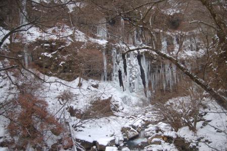 19スッカン沢の氷壁