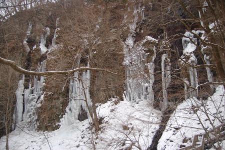 32スッカン沢の氷壁