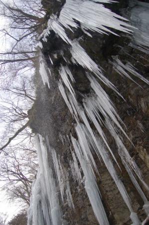 23スッカン沢の氷壁