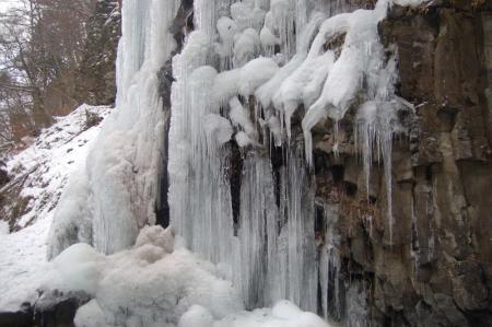 25スッカン沢の氷壁