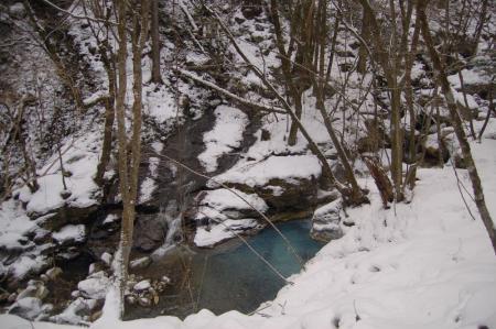 28素簾の滝