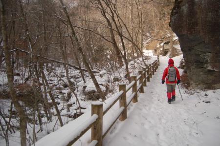 29雄飛の滝線歩道