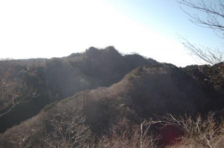 16無名峰からのおかめ山