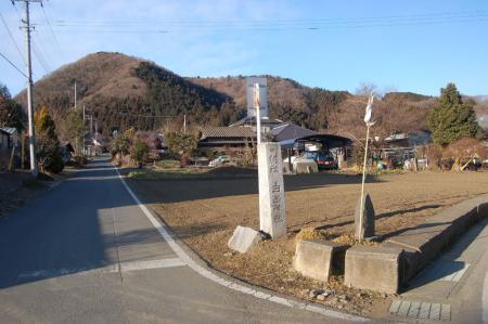 白石神社入口