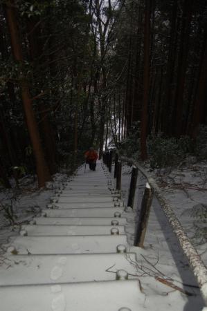 12仏頂山への登り