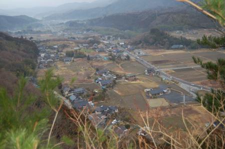 妙見山頂からの展望