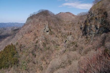篭岩展望台