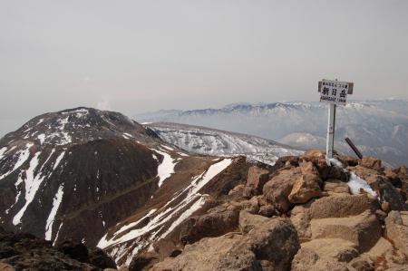 26朝日岳山頂