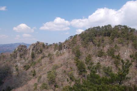 22月山から二ツ箭山