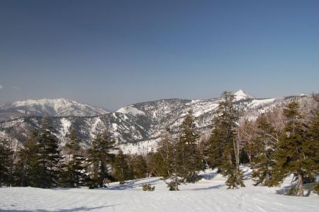 12上州武尊山と笠ヶ岳
