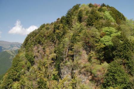 展望台からの石裂山24