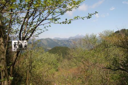 石裂山からの男体山28