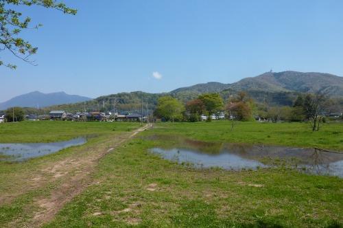 筑波山と宝鏡山