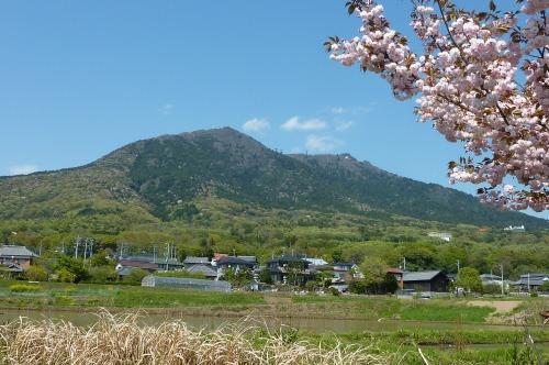 再び筑波山