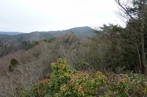 神峰山遠望