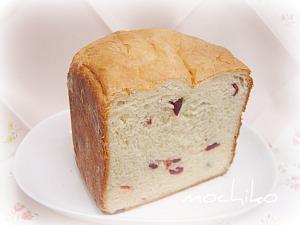 20100418アニスとドライクランベリーのパン 早焼き
