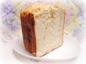 20100615はちみつとホワイトチョコのパン