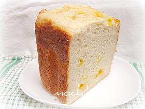 201006203種のチーズとコーンミールのパン 早焼き