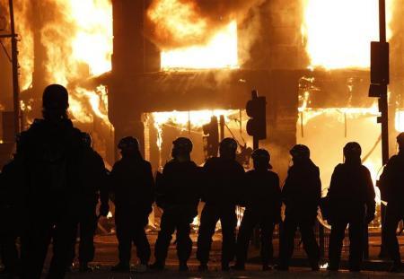 イギリスの暴動2