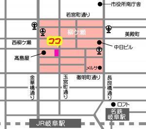 柳ケ瀬地図