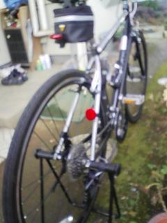 自転車いじりスタンド