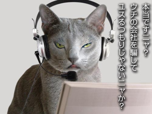再春館猫苦情篇CM5