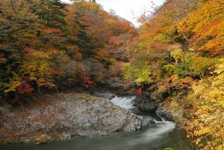 夏井川渓谷の景観