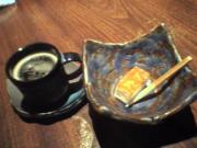 コーヒー・クコのケーキ