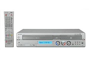 【送料無料】SHARP 160GB・HDD+VHS+DVDレコーダー DV-HRW50