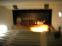 小さな開演前ホール