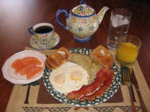 B&B breakfast 1
