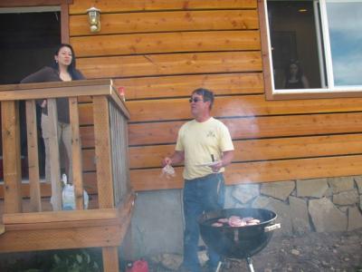 cabin BBQ 1