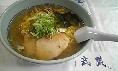 武蔵の塩ラーメン