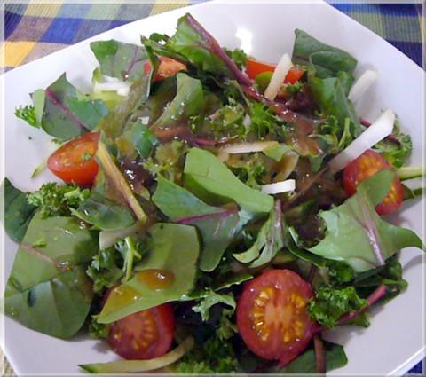 和郷園野菜のサラダ