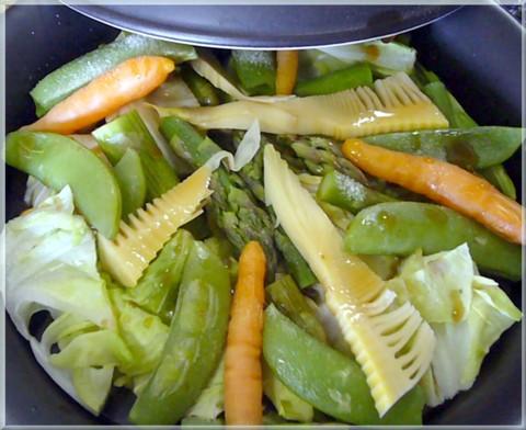 春の温野菜