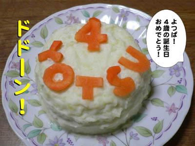 ザンネンなケーキ1