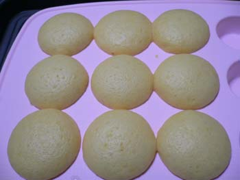 ヨーグルト蒸しパン2