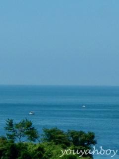 空と海が溶けあうところ