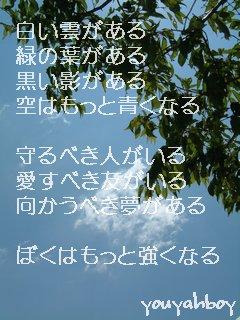 空はもっと青くなる