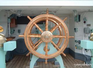 海王丸の舵 2006.11.26 11:40撮影