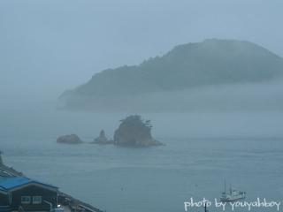 『霧のターナー島』 2006.06.22 18:46:48撮影