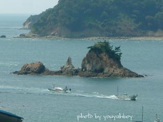 『ターナー島杯争奪!漁船の追いかけっこ』 2006.9.22 13:00:14撮影