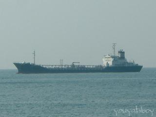 国内航路の貨物船