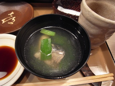 喜寿司あらの吸い物