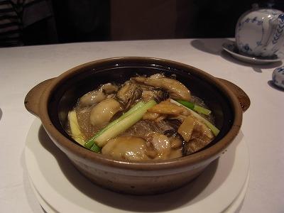 牡蠣と春雨の土鍋煮込み