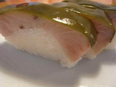 寒ブリ寿司
